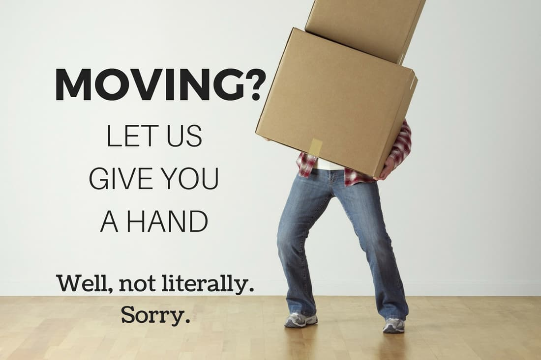 Best mortgage broker - Man struggling with cardboard cartons while trying to move house