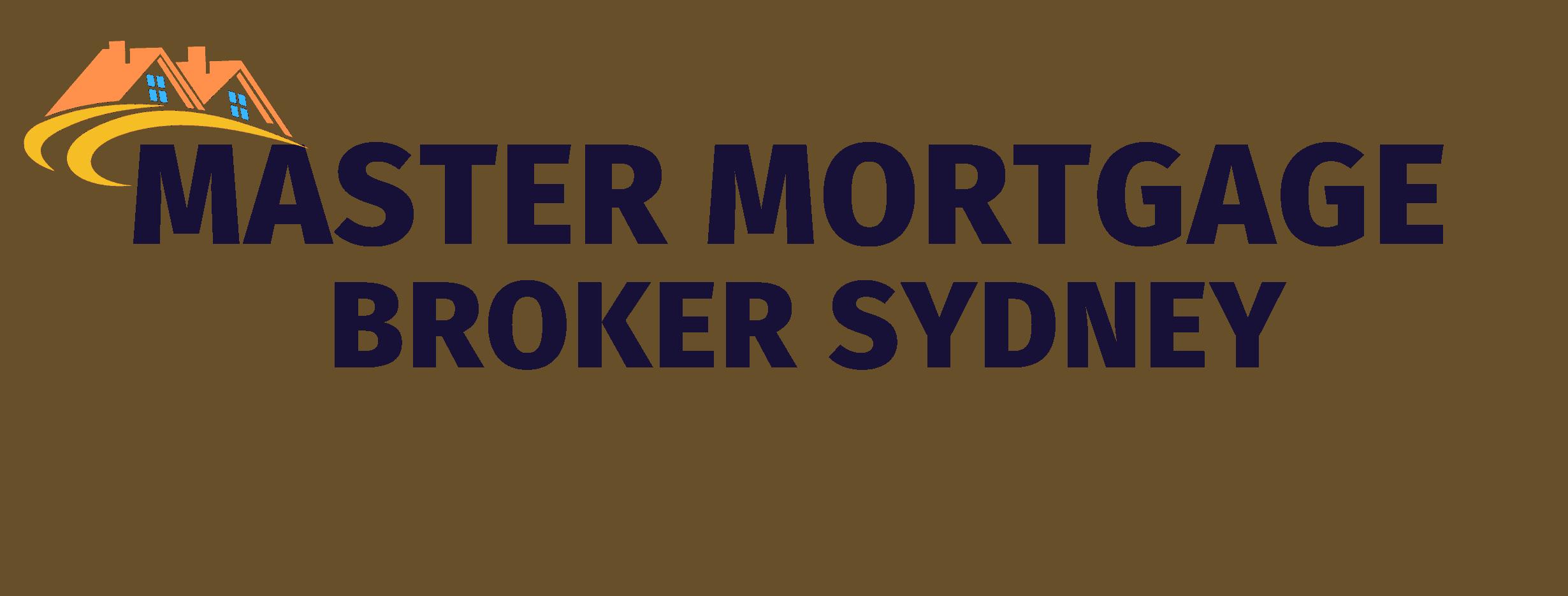 Dark navy Master Mortgage Broker Sydney Logo